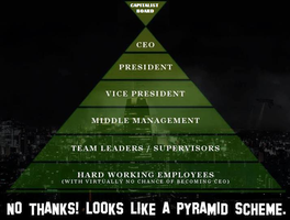 Capitalism is a Pyramid Scheme by Valendale