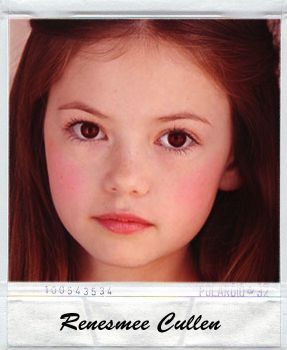 Renesmee polaroid by cullenfireworks