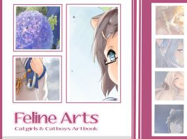 Feline Arts/ Artbook Preview by Sternenmelodie