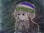 precious anime androgyne (semi-colored sketch) by TheApatheticKat