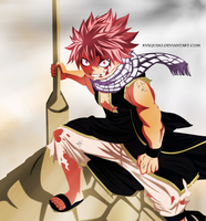Fairy Tail Natsu 328 Dragon Slayer by kvequiso
