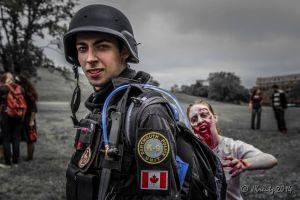 Live to Serve - Halifax Zombie Walk by XAC-Productions