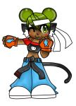 KItty Fighter adoptable (sold) by BrownieTheif