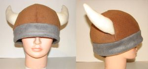 Viking Hat - Adult by melonkittyhats