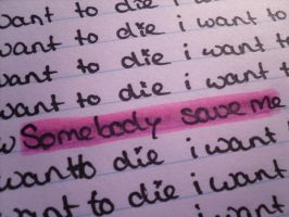 Somebody save me by runawaykid0193