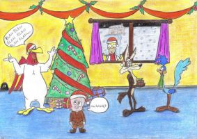 Looney Christmas - for Tom. by anakomb