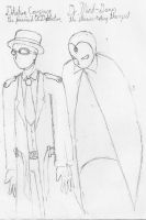Concept: Dr. M-G + Det. Conspi by AC-Drawings