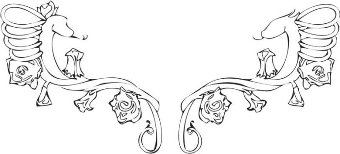 CF Tattoo Design with Chinese Zodiac by Life-Inspired-Artist
