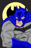 Batman quick colors by powerbook125