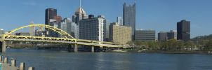 Pittsburgh North Shore Trail Panorama by GTX-Media