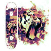 Eye of the Tiger Skateboard by utilizzo
