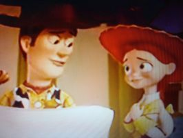 Woody and Jessie inlove by spidyphan2