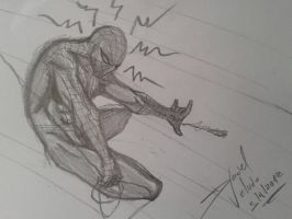 Spider-Man in action by D-Architect
