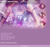 Final Fantasy VIII :: Journal Skin :: by Kastella72