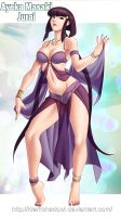 COMMISSION - Ayeka Harem Dancer by IDarkShadowI