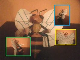 Beedrill Papercraft by Sabi96PapercraftBox