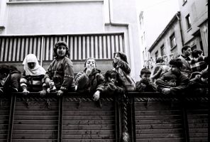 Children on the truck by TanBekdemir