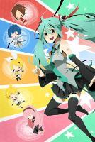 Vocaloid 2 by CATGIRL0926