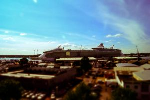 Day 266: Southampton boatshow from the air by Kaz-D