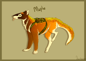[MYO]Daelo Entry- Maple by IceIsland