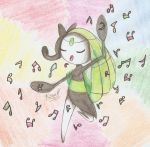 Meloetta singing... by konus240998