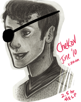 Pirate Chekov by Surfer-Draik