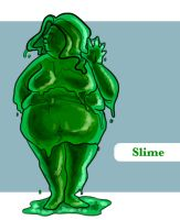 Slime Girl by arswiss