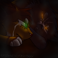 Yellowfang's Death by M0LTEN-R0SE