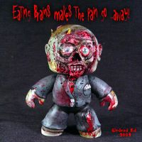 Zombie Mighty Muggs ROTLD by Undead-Art
