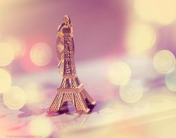 cute greetings from Paris by Katari01