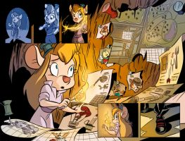 Rescue Rangers #7 by HueVille