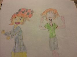 Muppe-fied Pete and Pete by Amphitrite7