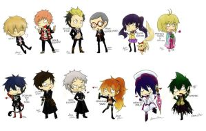Ao no Exorcist gang by ChaniharaRoora