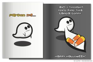 Greeting Card - Canda Corny by nikkoli