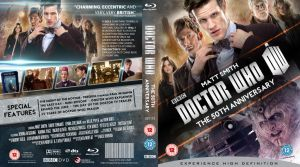 DOCTOR WHO : THE 50TH ANNIVERSARY BLU-RAY by MrPacinoHead
