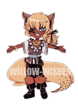 |Adoptable| Cuppycat 1 [SET PRICE] $8/800 points! by willow-wishes