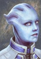 Liara T'soni by Atarial