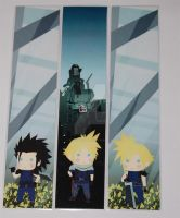 Final Fantasy VII Bookmarks by knil-maloon