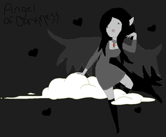 Angel of Darkness by AT-Marceline