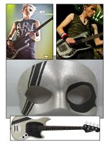 Sparklebass inspired mask by maskedzone