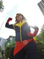 Captain Marvel by Archduke-Yuatja
