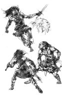 dragonlance goblins by acts2028
