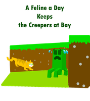 A Feline A Day Keeps The Creepers At Bay by Mabeanie