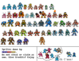 Super Fighting Robots! 90s Sprites by MegaRed225