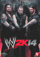 WWE 2K14 Cover feat The Shield by MhMd-Batista