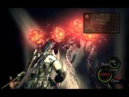 Resident Evil 5 Boss Fight by Omi06