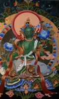 GREEN TARA. by OoooKATIoooO