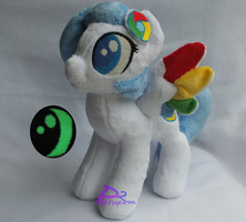 Google Chrome Pony V3 Glow-in-the-Dark by kiashone
