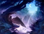 Maleficent: Beneath The Crescent Moon by nicholaskole