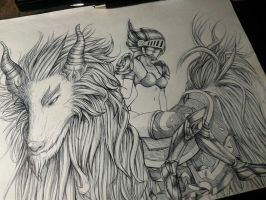 For my Artbook#4 by GuanlaoLineart